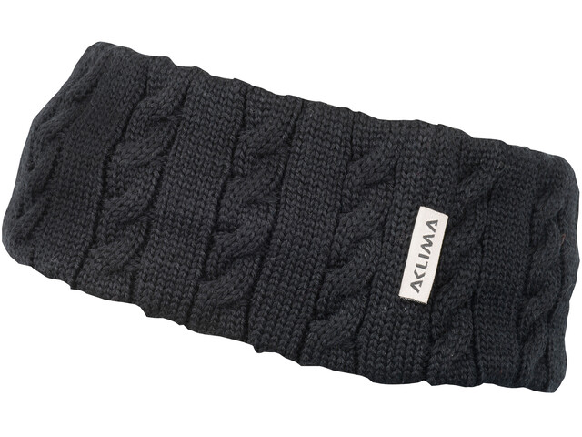 Aclima Knitted Headband Jet Black